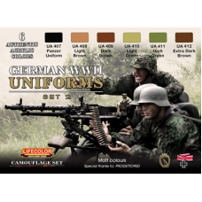 German WWII uniform set2 Lifecolor