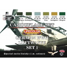 German WWII Luftwaffe set1 Lifecolor