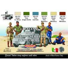 Italian WWII Regio Esercito uniforms Lifecolor