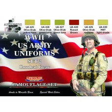 WWII US army uniforms set2 Lifecolor