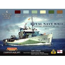 Royal WWII Navy set2 Lifecolor