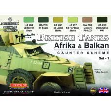 British Tanks (Afrika & Balkan) Lifecolor