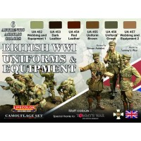 British WWI Uniforms and equipments Lifecolor