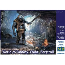 World of fantasy: giant Bergtroll 1/24