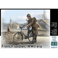 French soldier WWII era 1/35