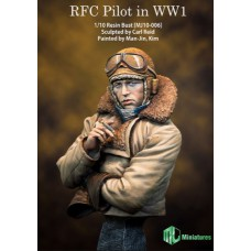 RFC Pilot in WW1 bustes