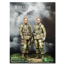WW2 US Paratroopers set 1/35