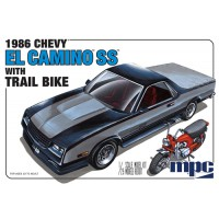 86 El Camino SS & dirt bike 1/25