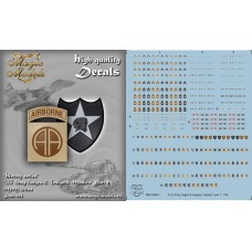 US Army Badges & Insignia. Modern. Part 1 Decals 1/35