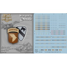 US Army Badges & Insignia. Modern. Part 3 Decals 1/35