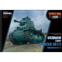 German light panzer 38T World War Toons
