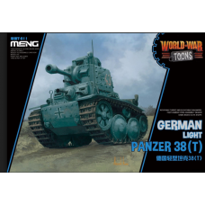 German light panzer 38T World War Toons
