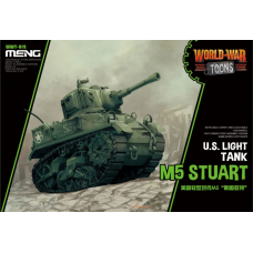 US Light Tank M5 Stuart World War Toons