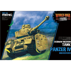 German Medium tank Panzer IV World War Toons