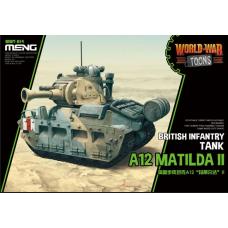 British Infantry Tank A12 Matilda II Egg tank scale