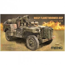WASP Flamethrower Jeep 1/35