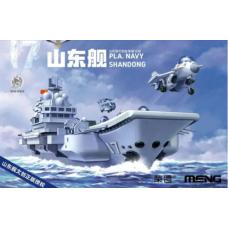 PLA Navy Shandong Warship builder - Cartoon
