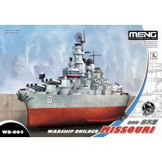 Missouri Warship builder - Cartoon