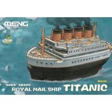 Royal Mail Ship Titanic Warship builder - Cartoon