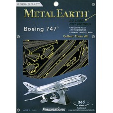 Boeing 747 Metal Earth