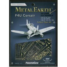 F4U Corsair Metal Earth