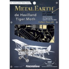 Tiger Moth Metal Earth