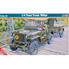 1/4 Ton Truck Willy's 1/35