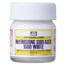 Mr.  Surfacer finishing surfacer 1500 white Primers