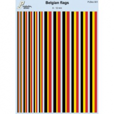 Belgian Fin Flashes Decals 1/72