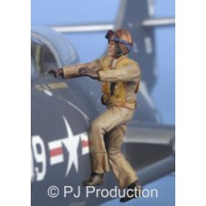 US navy pilot (korean war) 1/32