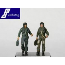 US pilots standing WWII 1/72