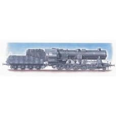 German Dampflokomotive BR52 1/72