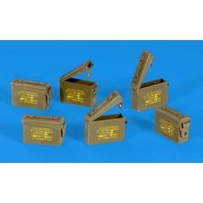 US ammunition boxes 1/35