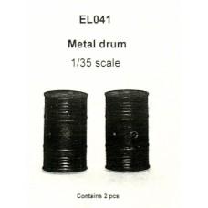 metal drum 1/35