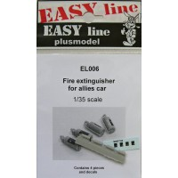 Fire extinguisher for allied cars 1/35