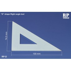 D-shape right angle tool Measuring