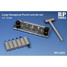 hexagonal punch and die large Punch and die