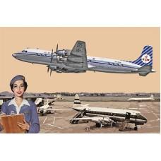 DC-7C KLM Royal Dutch Airlines 1/144