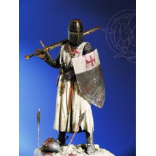 Templar Knight 13th C 1/20 - 90 mm