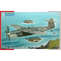 Fairey Barracuda MkII Pacific fleet 1/72