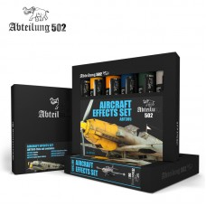 Aircraft effects set olieverf