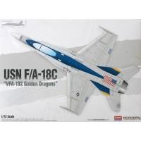 USN F/A18C VFA192 Golden Dragons 1/72