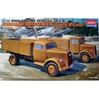 German Cargo Truck (Early & Late) 1/72