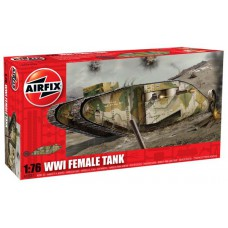 WWI Female tank 1/76
