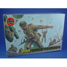 WWII British paratroops 1/72