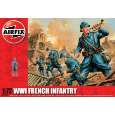 WWI French Infantry 1/72