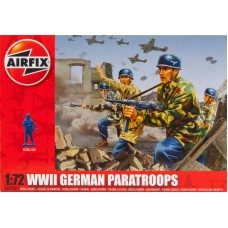 WWII German paratroops 1/72