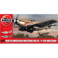Nort American Mustang Mk.IV/ P-51K 1/48