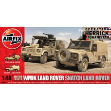 British forces Land rover twin set 1/48