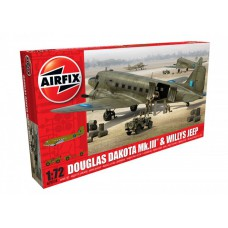 Douglas Dakota MK.III & Willys Jeep 1/72